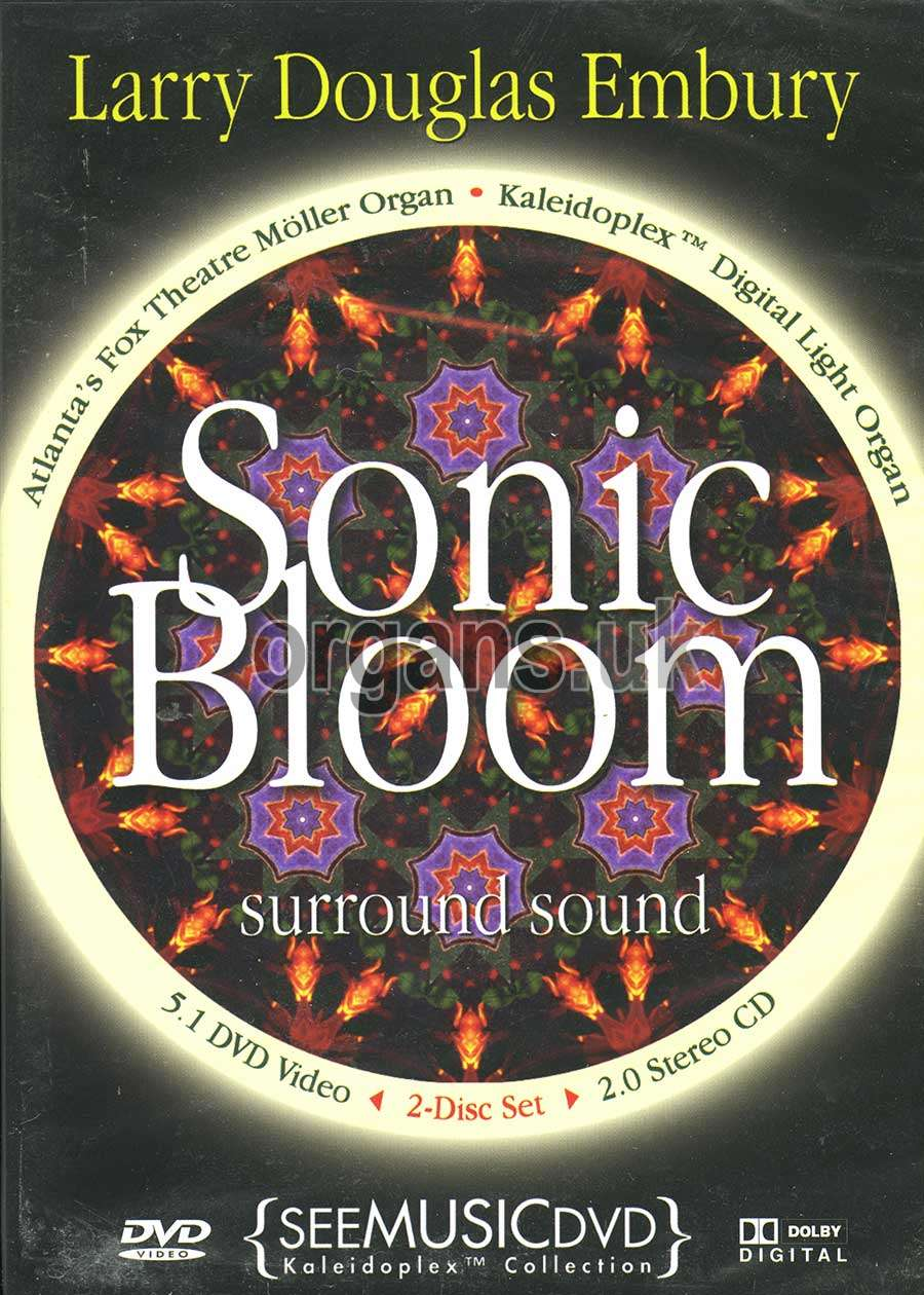 Larry Douglas Embury - Sonic Bloom DVD