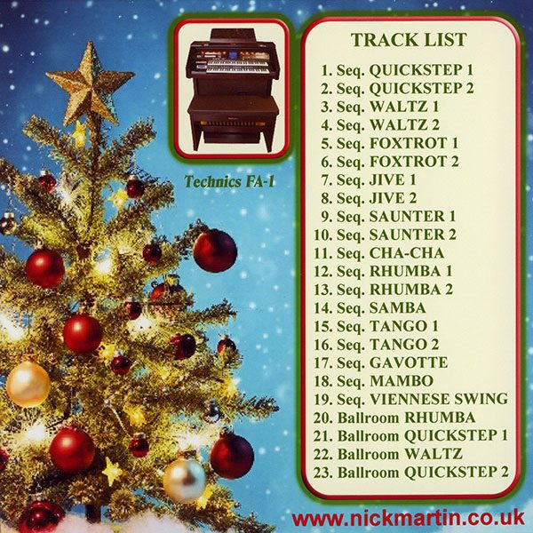Nicholas Martin - Dancing Around Christmas (Back)