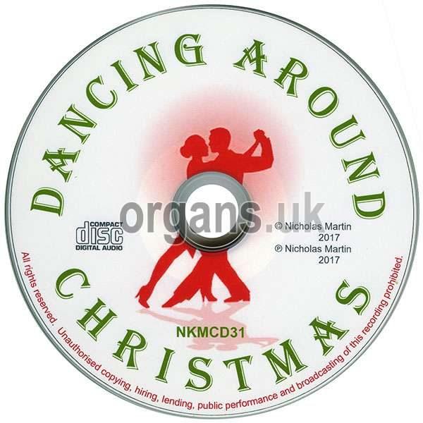 Nicholas Martin - Dancing Around Christmas (Disc)