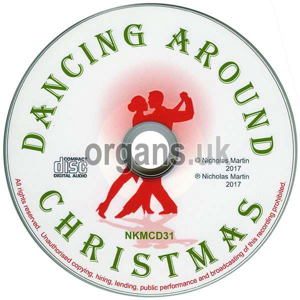 Nicholas Martin - Dancing Around Christmas (Disc)