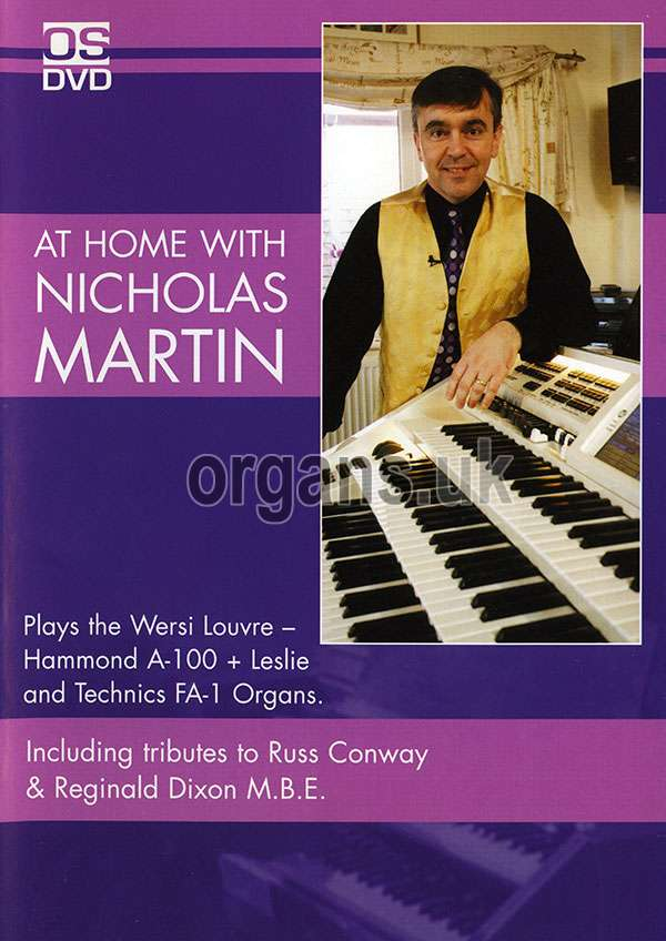 At Home With Nicholas Martin DVD