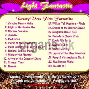 Nicholas Martin - Light Fantastic (Back)