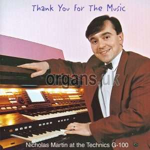 Nicholas Martin - Thank You For The Music