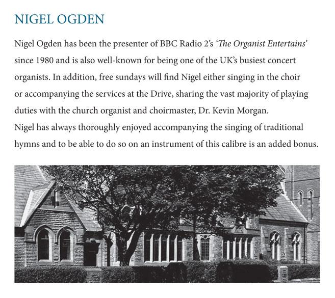 Nigel Ogden - Love Divine (Church)