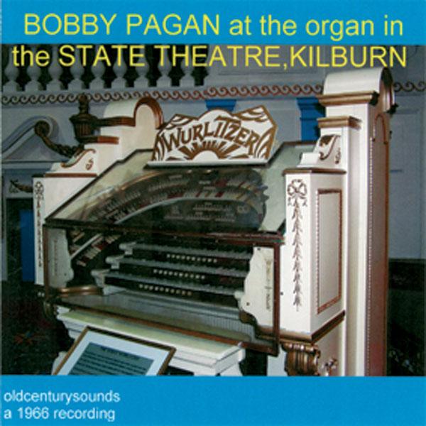 Bobby Pagan at the Organ of the State Theatre, Kilburn