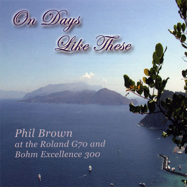 Phil Brown - On Days Like These