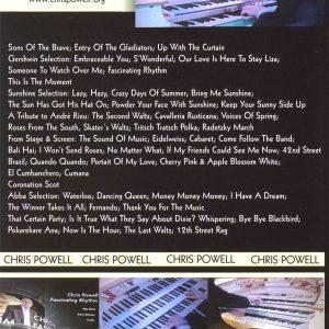 Chris Powell – Fascinating Rhythm DVD (Back)