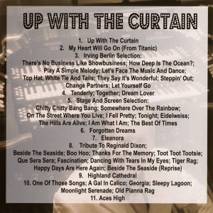 Chris Powell - Up With The Curtain (Back)