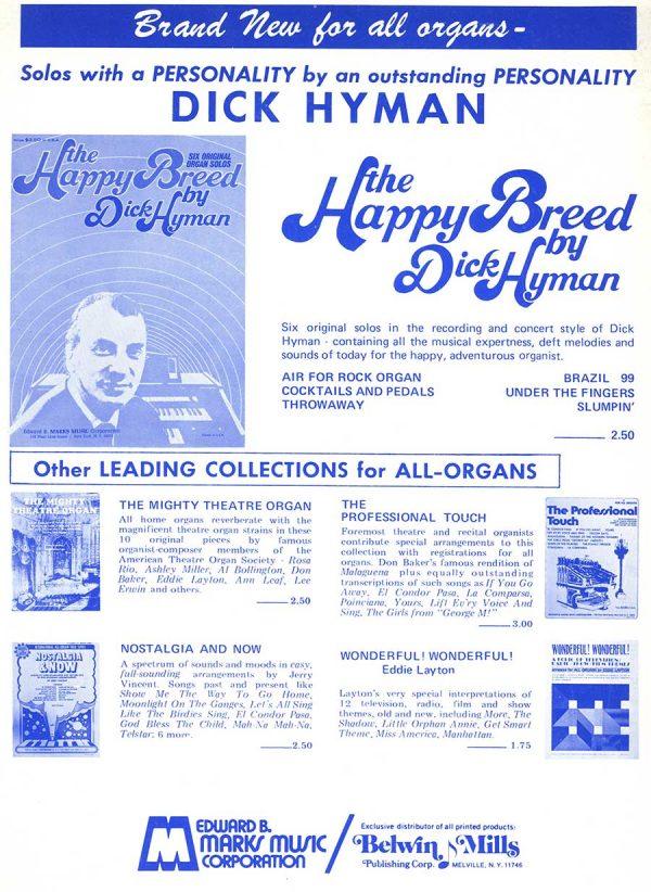 Scott Joplin Ragtime Classics For All-Organs Arranged by Dick Hyman (Book)