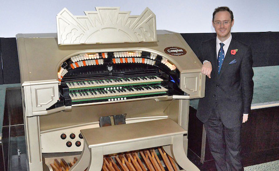 Richard Hills - Theatre Organ Club Patron for 2015