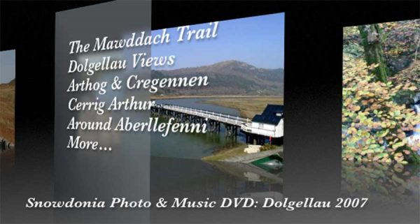 The Snowdonia Photo & Music DVD - Menu 1