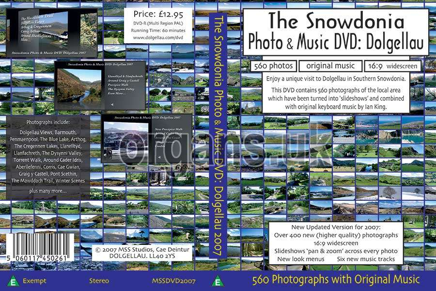 The Snowdonia Photo & Music DVD (Spread)