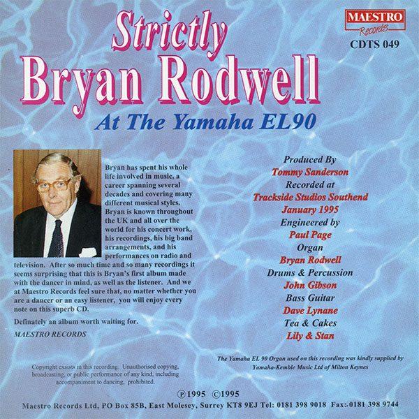 Strictly Bryan Rodwell