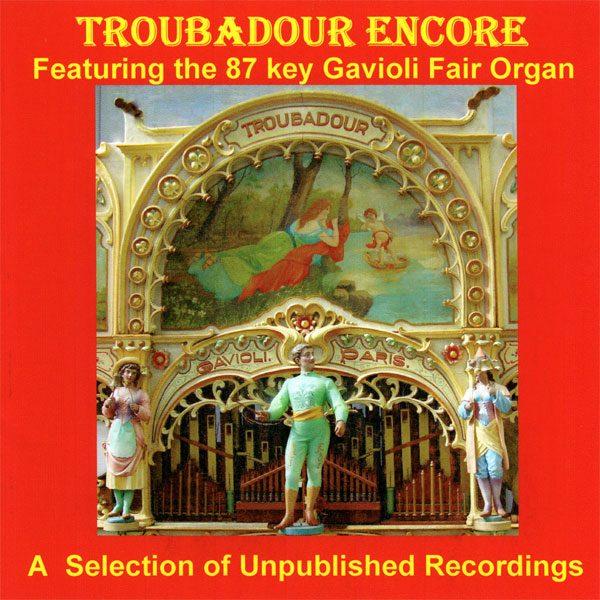 Fairground Organ - Troubadour Encore