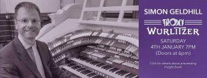 Simon Gledhill – Troxy Wurlitzer Concert (4th January 2020)