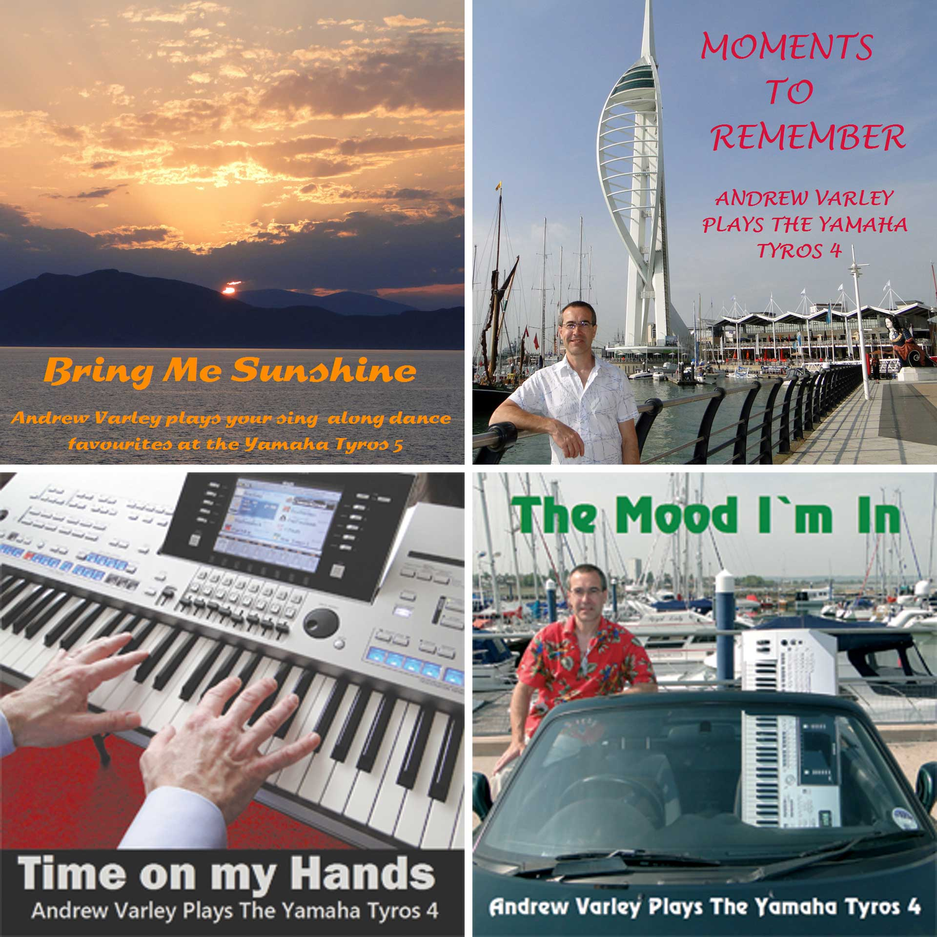 Andrew Varley CDs