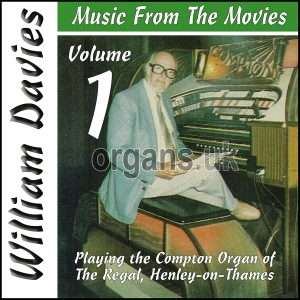 William Davies Music From The Movies – Volume 1 (CD)