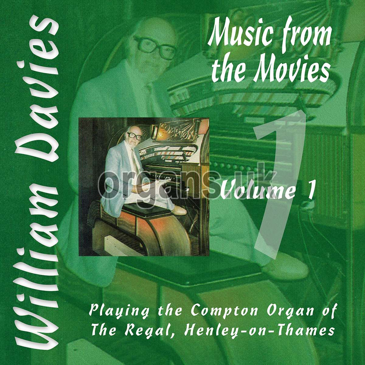 William Davies Music From The Movies – Vol.1