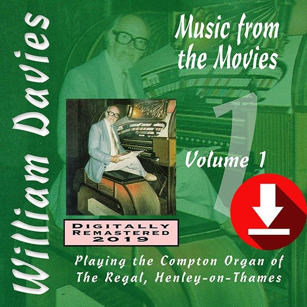 William Davies Music From The Movies – Volume 1