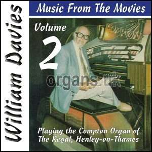 William Davies Music From The Movies – Volume 2 (CD)