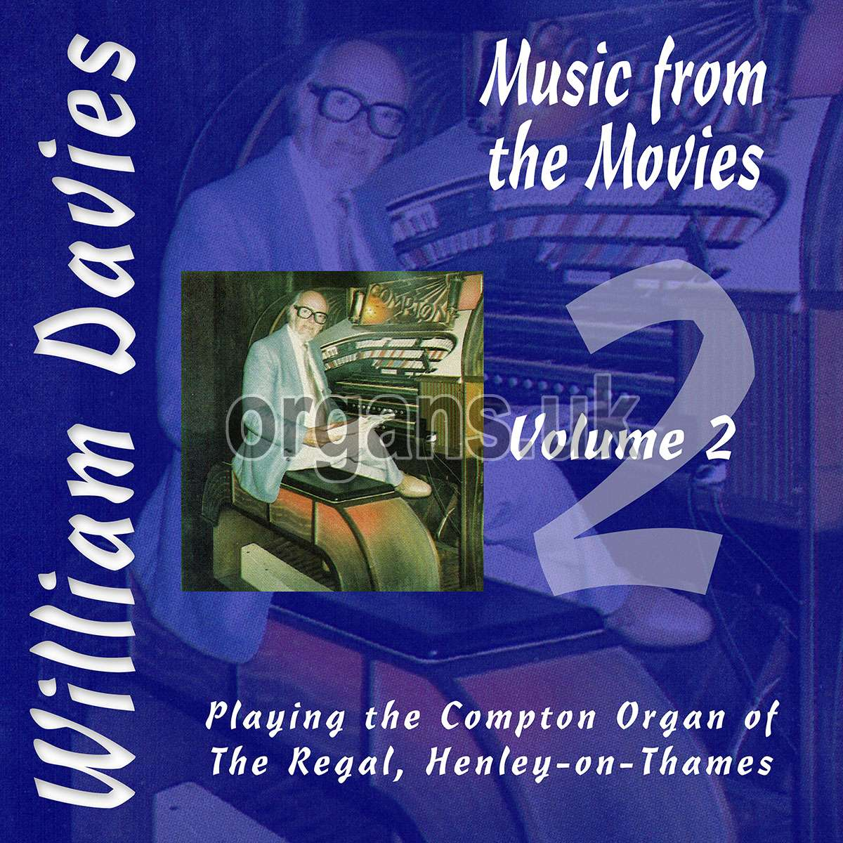 William Davies Music From The Movies – Volume 2