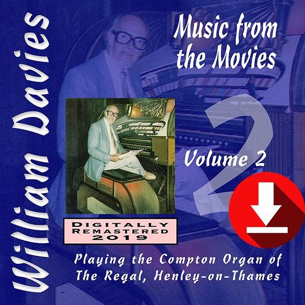 William Davies Music From The Movies – Volume 2