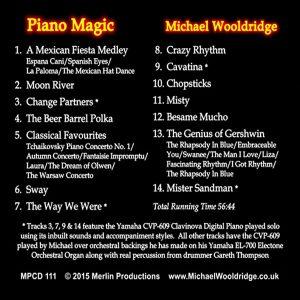 Michael Wooldridge – Piano Magic (Tracks)